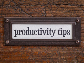 10 Productivity Tips For Incredibly Busy Entrepreneurs