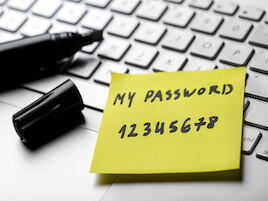 5 Things You Shouldn't Use as Your Password