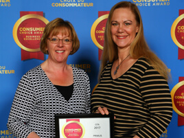 Primus Wins Eighth Consumer Choice Award