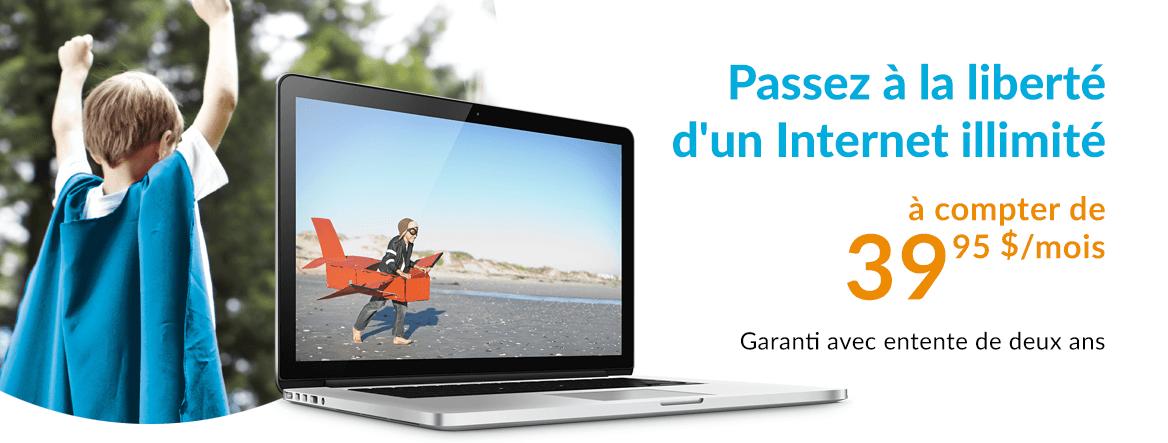 Primus Internet - Passez à la liberté d'un Internet illimité