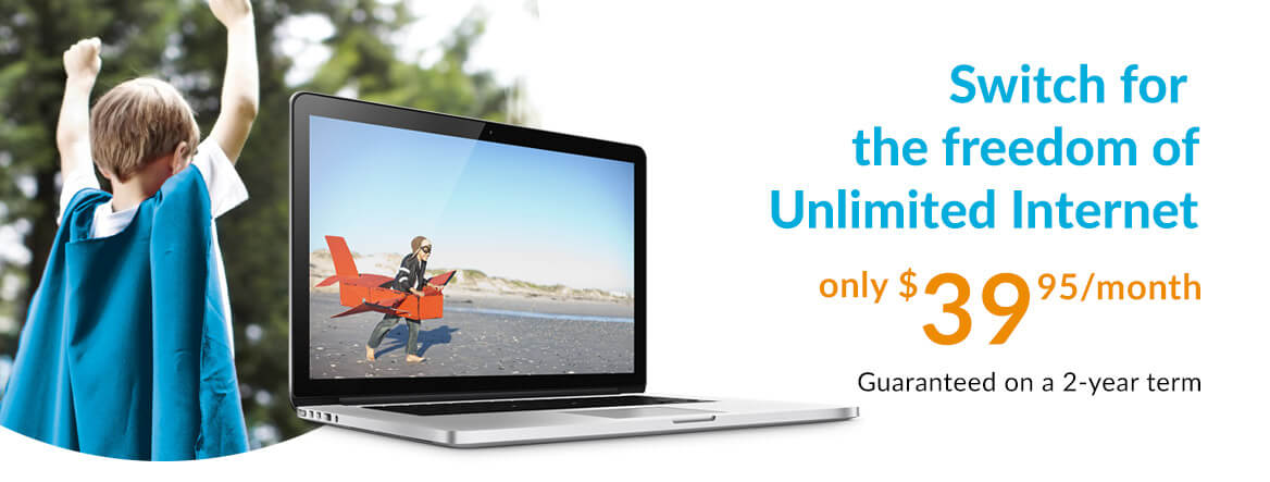 Primus Internet - Switch for the freedom of Unlimited Internet